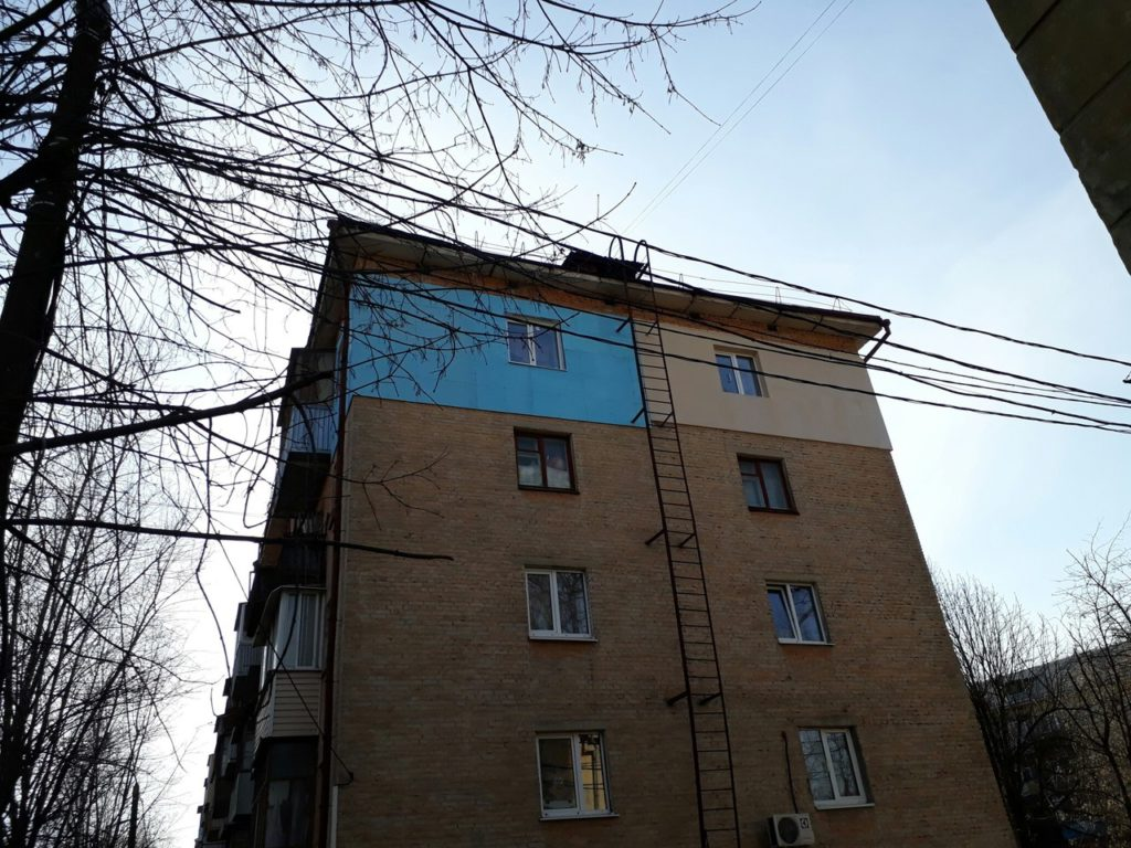 В квартире промерзает стена как утеплить