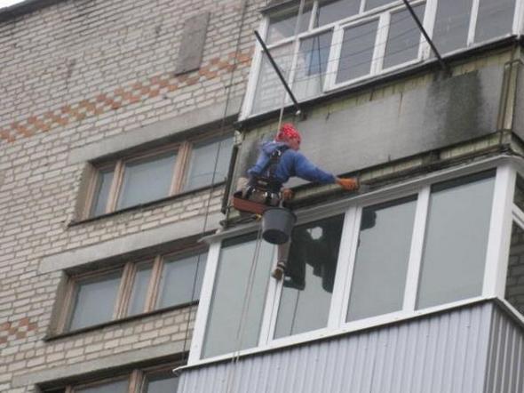 Гидроизоляция балконных козырьков